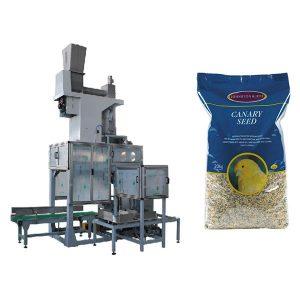 20 كيلوجرام البذور المفتوحة الفم التعبئة و حقيبة ملء موازين الحبوب التلقائي أكياس كبيرة آلة التعبئة