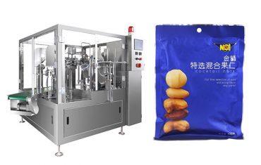 صنع في كيس من الحبوب الغذائية مسبقا ملء آلة التعبئة والتغليف الختم