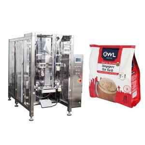 يغسل صمام تلقائي القهوة مسحوق آلة التعبئة