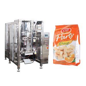 كامل تلقائي للأغذية رباعية الختم حقيبة آلة التعبئة