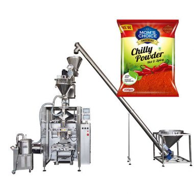 vffs آلة التعبئة باغر مع حشو اوجير للفلفل الحلو ومسحوق الفلفل الغذاء